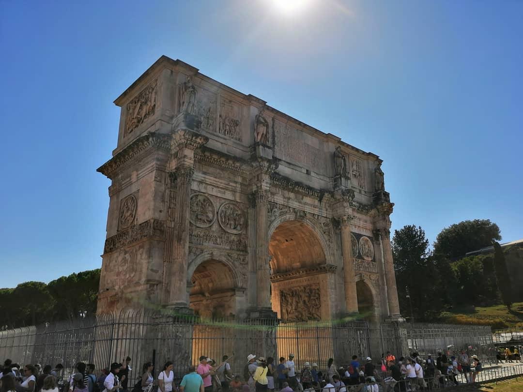 Триумфальная Арка Константина