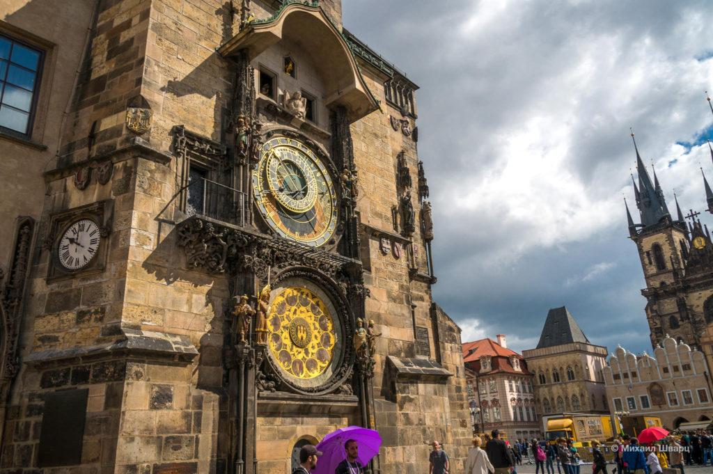Астрономические часы на Староместской Ратуше в Праге