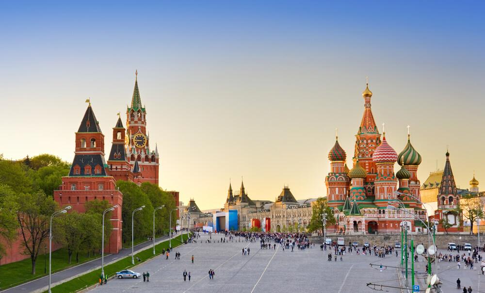 достопримечательность москвы - Красная Площадь