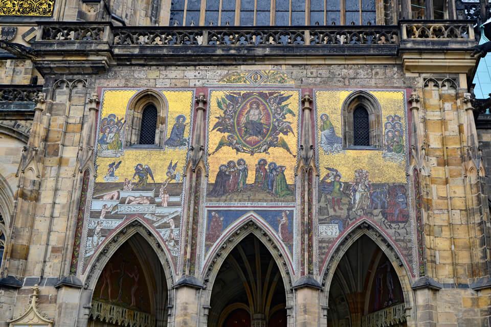 Золотые ворота в соборе Святого Вита