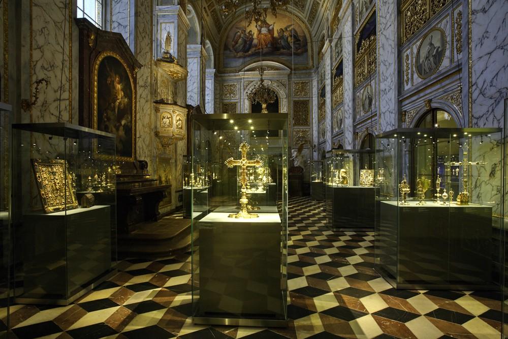 Сокровищница собора святого Вита