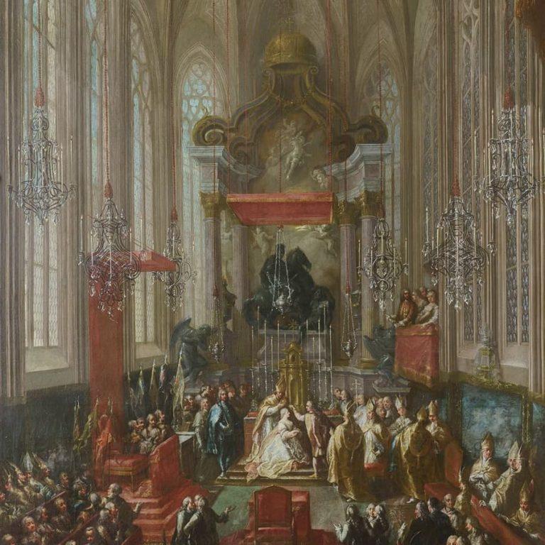 Коронация в соборе Святого Мартина