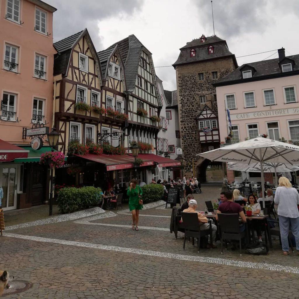 Центр города Линц-на-Рейне
