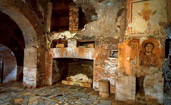 Известные Римские катакомбы