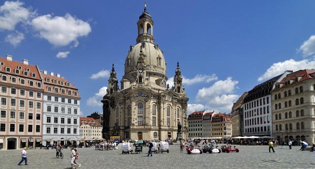 Церковь Богородицы в Дрездене (Фрауэнкирхе)