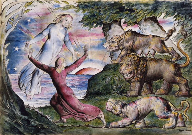 Рисунок на произведение Божественной Комедии