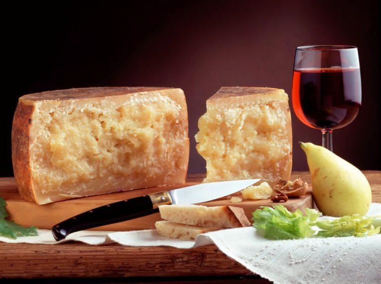 Пекорино и вино