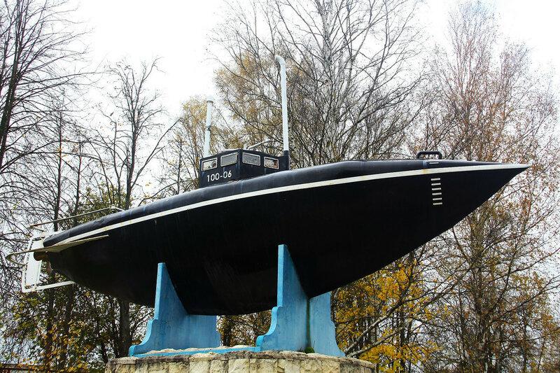 Монумент подводной лодки С. К. Джевецкого