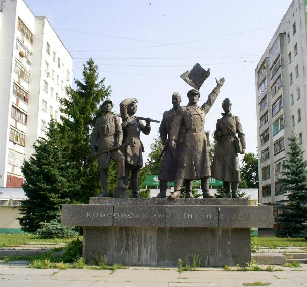 Памятник погибшим во времена сталинских репрессий