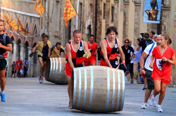 Исторический фестиваль в Монтепульчано
