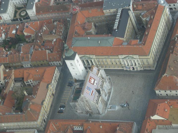 Площадь Святого Марка Загреб