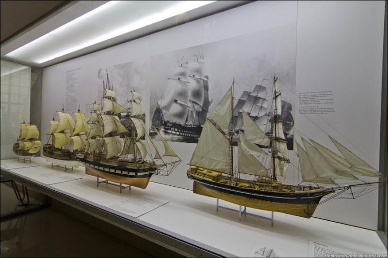 Музей судоходства и мореплавания Дюссельдорф