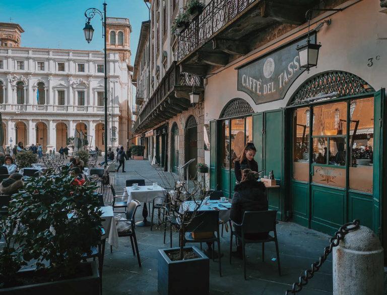 кафе в Бергамо