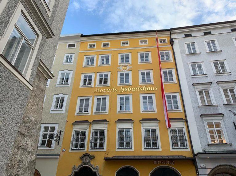 Дом-музей Моцарта в Зальцбурге