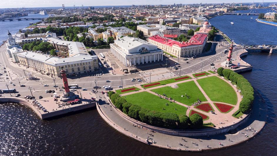 достопримечательности санкт-петербурга: Стрелка Васильевского острова
