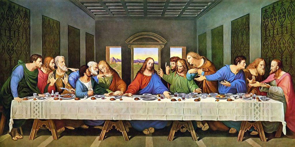 """Картина """"Тайная Вечеря"""""""