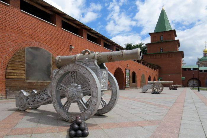 Царевококшайский кремль — одна из достопримечательностей Йошкар Олы
