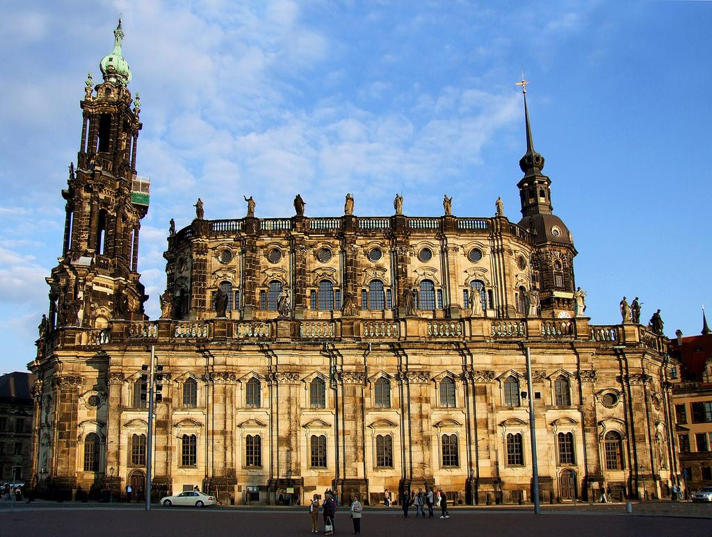 Собор Хофкирхе Дрезден