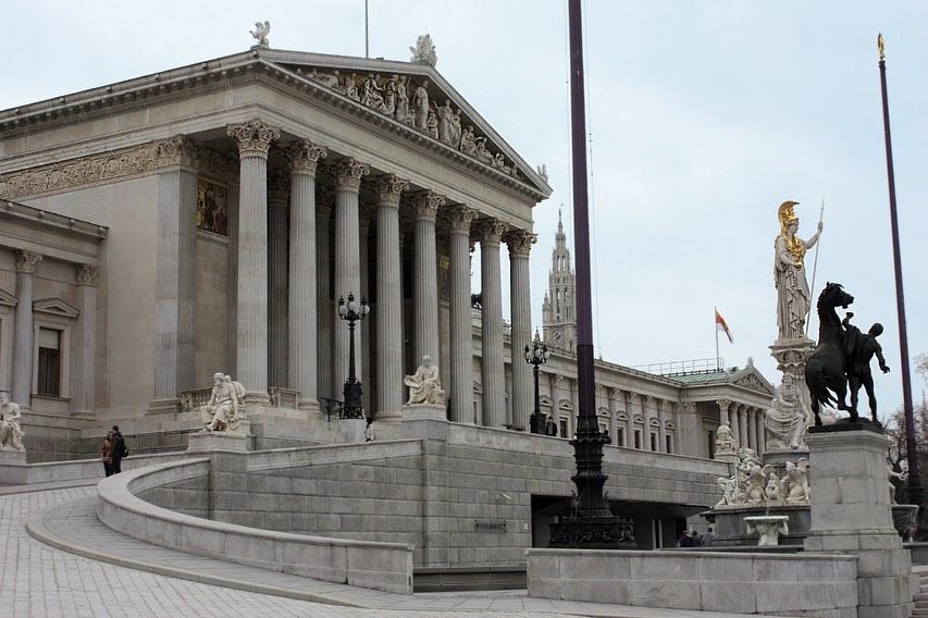 Здание австрийского парламента
