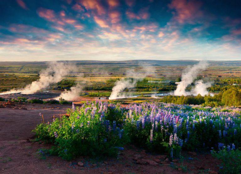 Долина гейзеров Хейкадалюр
