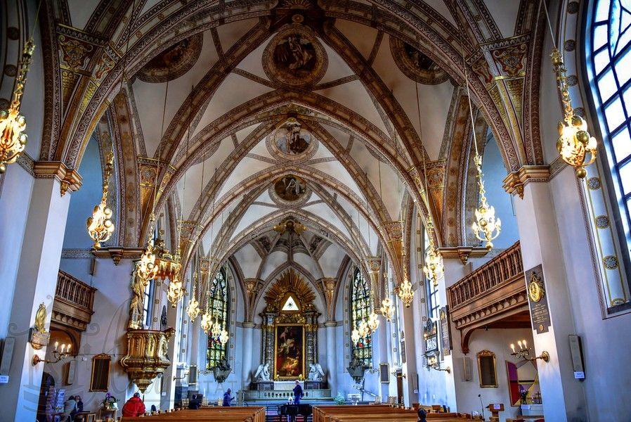 Церковь Святой Клары Стокгольм