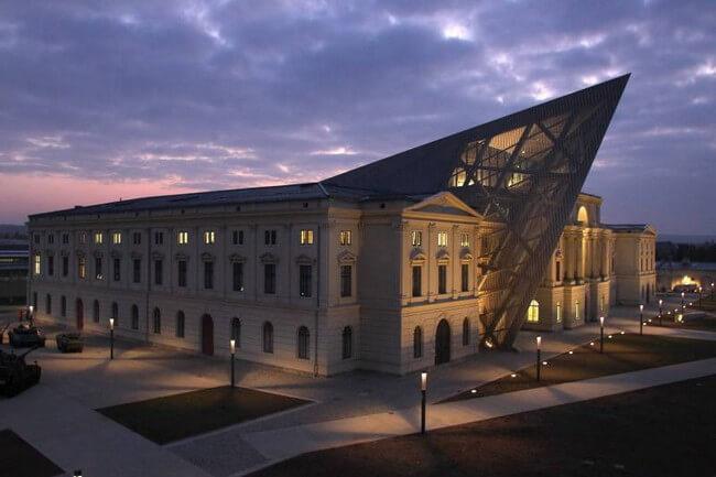 Военно-историческая выставка в Дрездене