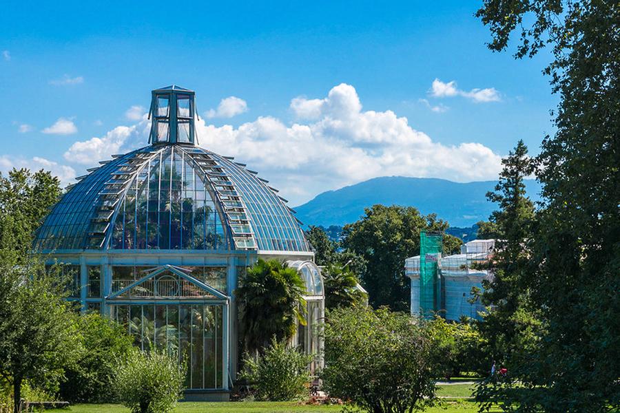Ботанический сад Женева