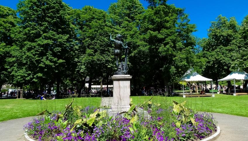 Парк Бастионов Женева