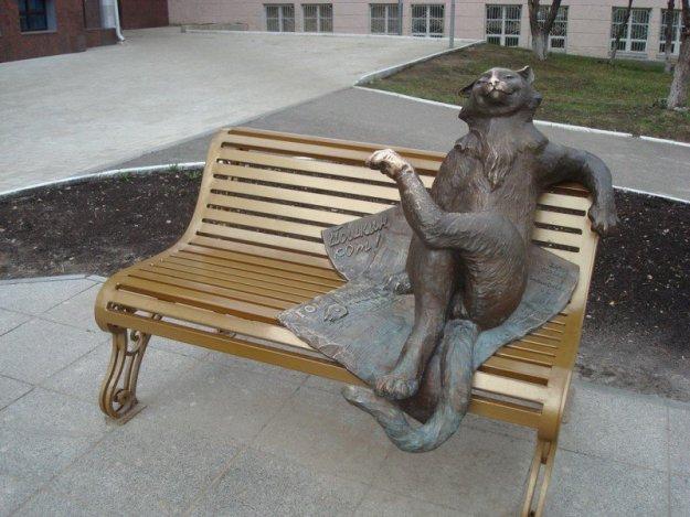 Памятник Йошкиному коту
