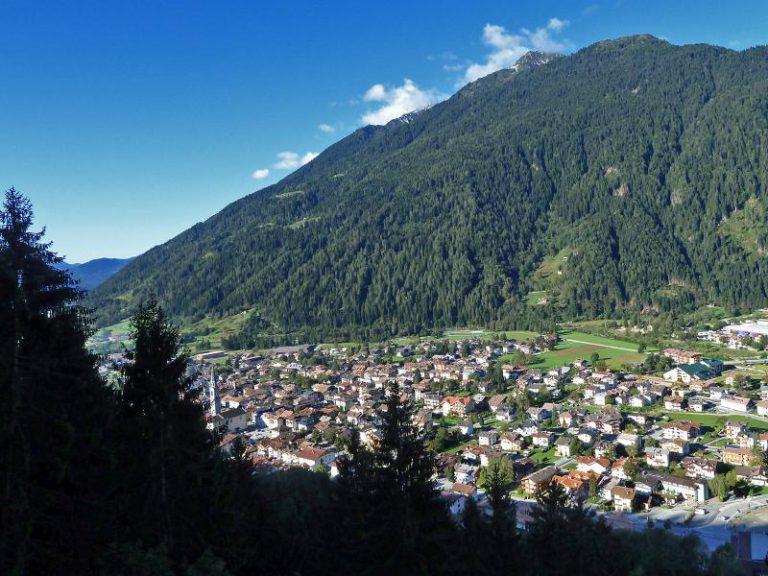 Вид на Пинцоло с горы