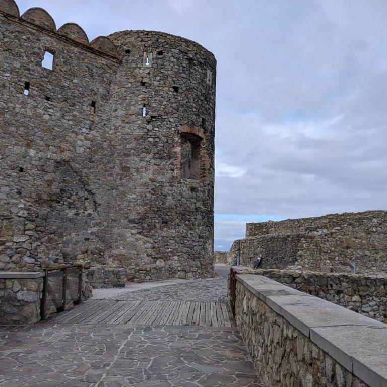 Замок Девин внутри