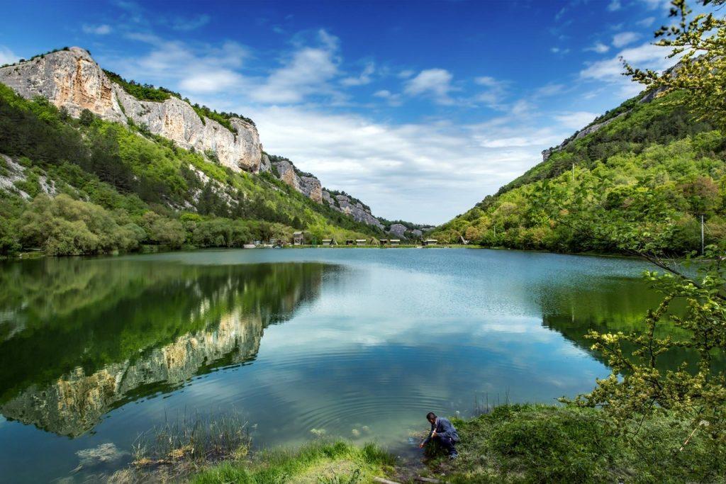 Девичье озеро Мангуп