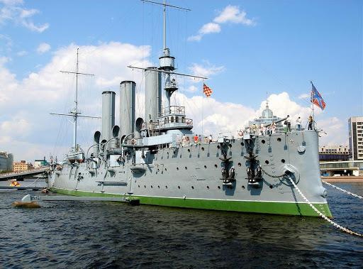 Достопримечательность СПБ - Крейсер «Аврора»