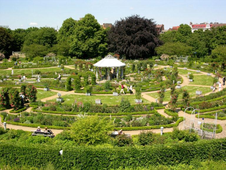 Гамбургский ботанический сад