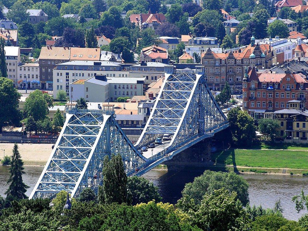 Мост «Голубое чудо» Дрезден