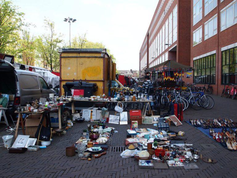 Блошиный рынок Waterlooplein