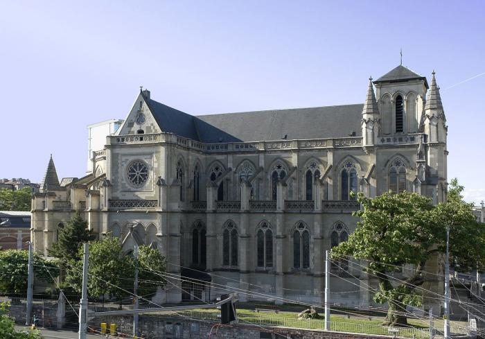 Базилика Нотр-Дам Женева