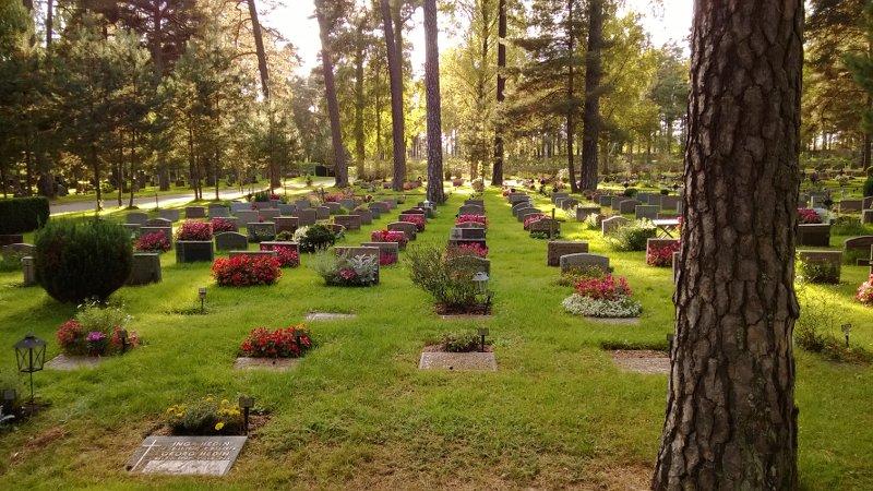 Лесное кладбище Скугсчюркогорден