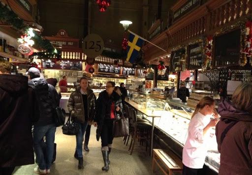 Эстермальмский рынок Стокгольм
