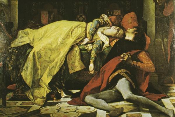 Трагическая любовь Паоло и Франчески