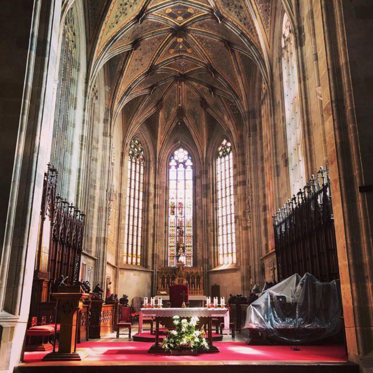 Алтарь собора Святого Мартина