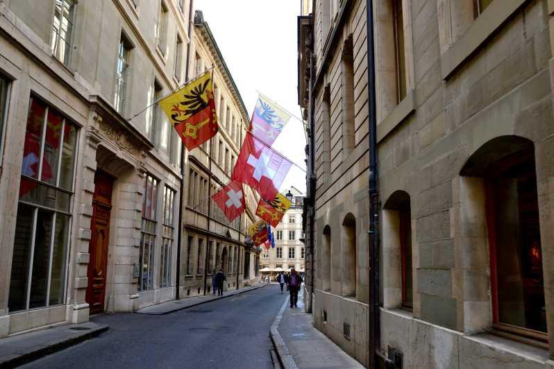 Старый город Женева