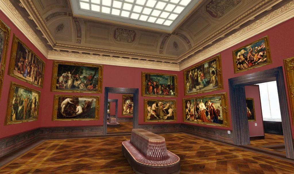 Выставка работ старых мастеров Дрезден