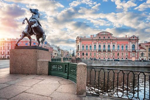 Аничков мост - достопримечательности Санкт Петербурга