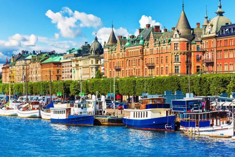 Лодочный круиз по Стокгольму