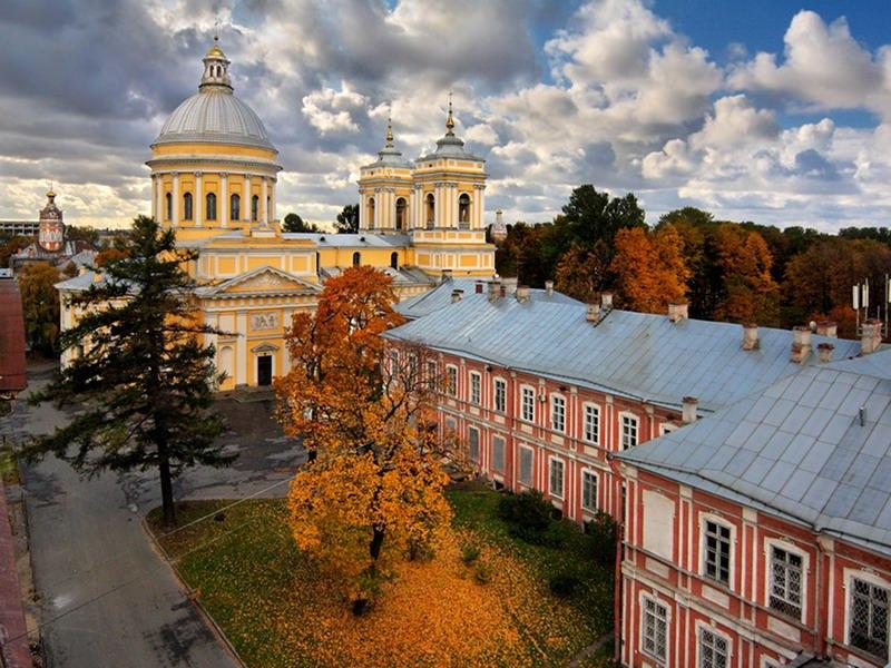 достопримечательности санкт-петербурга: Александро-Невская Лавра