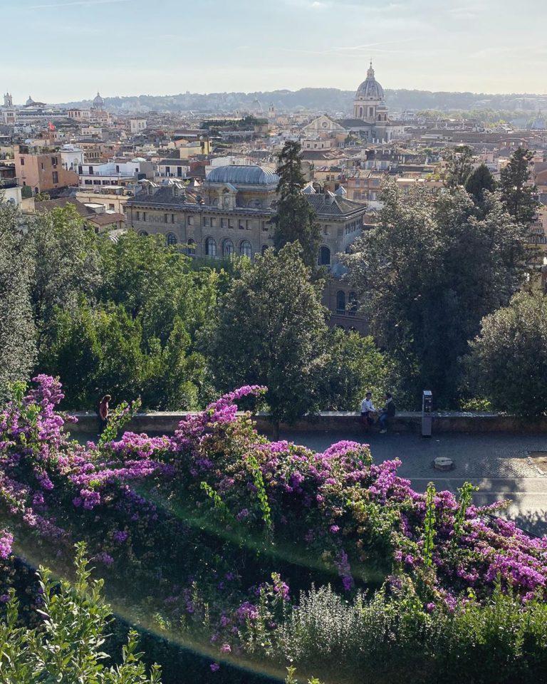 Вид на Рим с Виллы Медичи