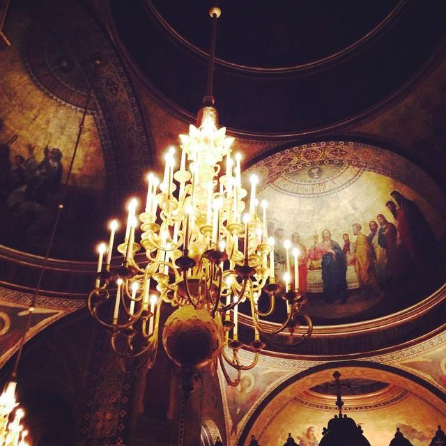 Собор Александра Невского внутри