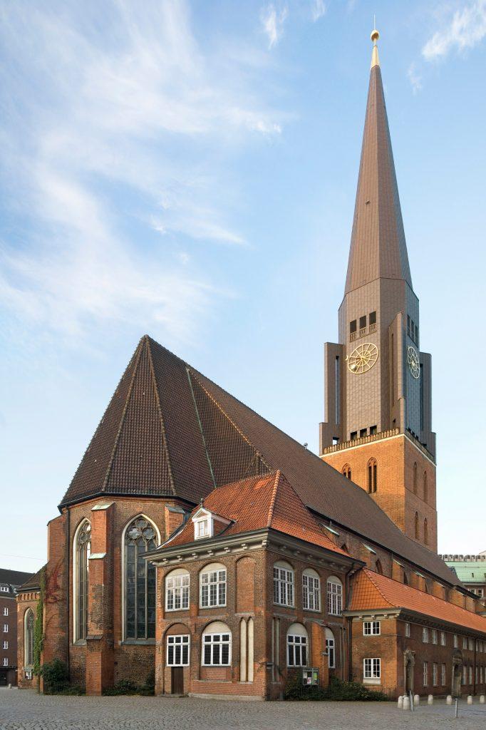 Церковь Святого Якоба в Гамбурге