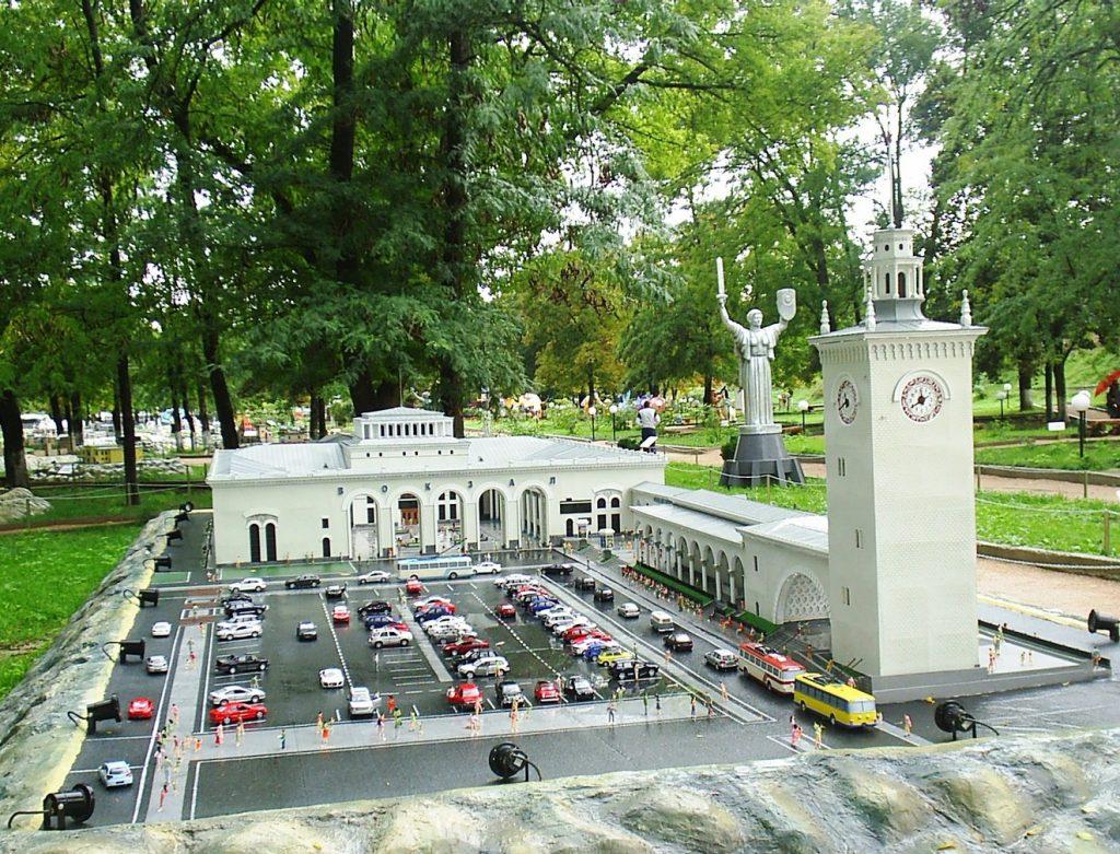 Парк миниатюр Бахчисарая